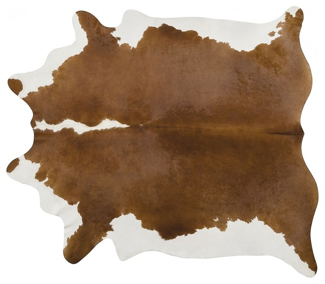 Pergamino Hereford Cowhide Rug, Extra Large.