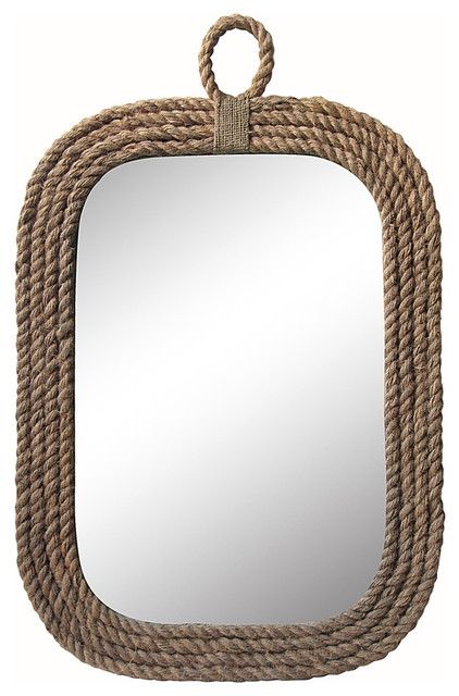 Portland Rope Wall Mirror.