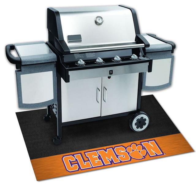 Clemson Tigers Bbq Grill Mat.