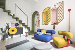 Schrill! Eine Mailänder Wohnung feiert 40 Jahre Memphis-Design