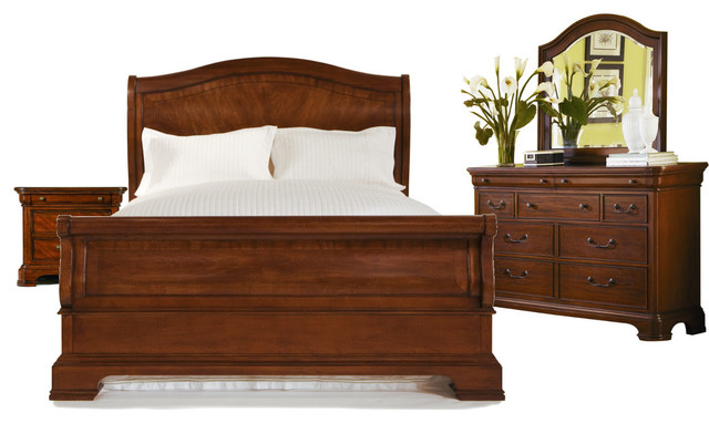 Legacy classic evolution sleigh bedroom set traditional - Legacy evolution bedroom furniture ...