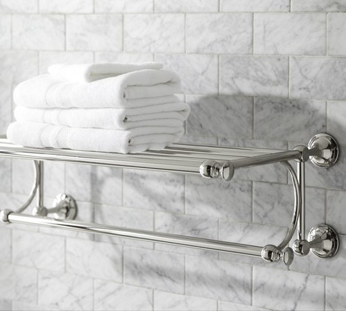 Does This Towel Rack Come In Brushed Nickel?