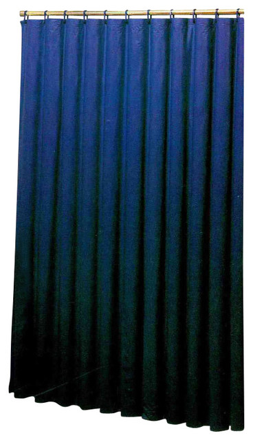Vinyl Shower Liner With Magnets And Grommets Traditional Shower Curtains