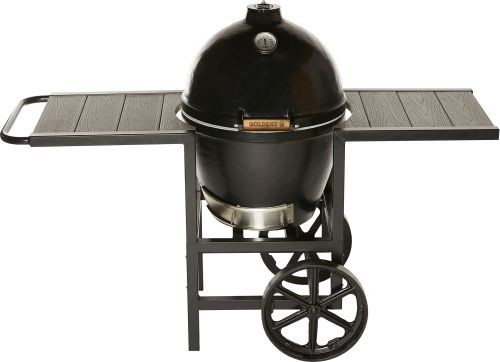 "Golden&x27;s Cast Iron 13525 Cooker With Full Cart, 20.5""."