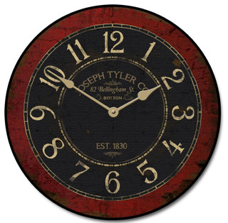 J tyler bellingham street wall clock reviews houzz for Accents salon bellingham