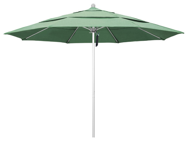 Rectangular Umbrella With 17640 Taupe Umbrella Fabric