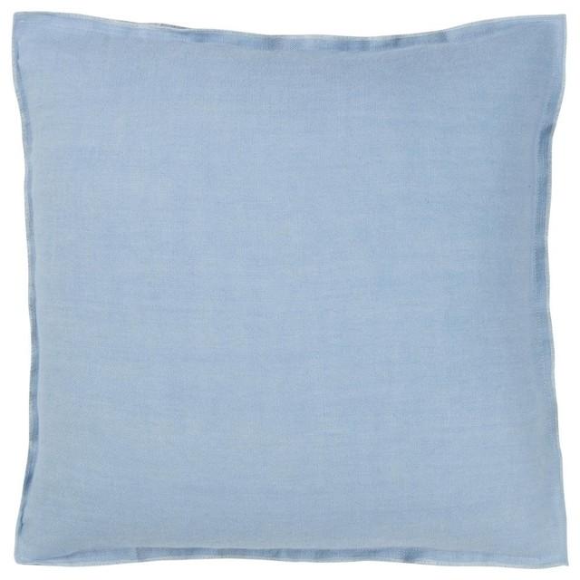 Brera Throw Cushion, Lapis.