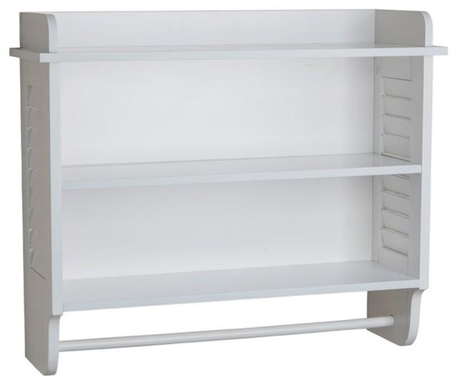 white bath cabinet with adjustable shelf and towel bar bathroom