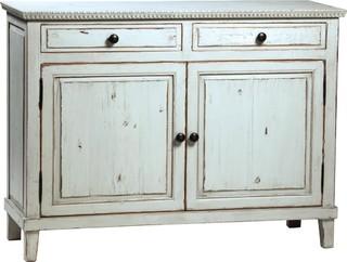 Soren Antique Gray Paint Reclaimed Sideboard