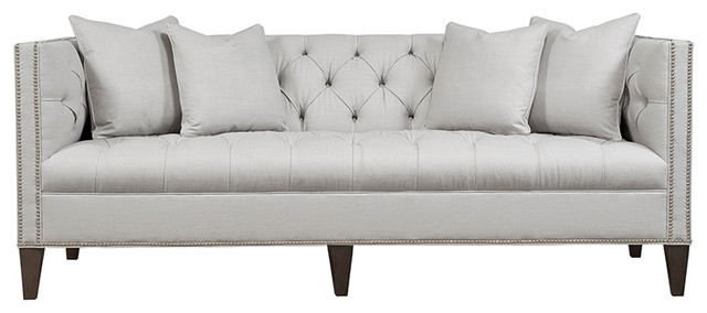 Tremendous Chatham Button Tufted Tight Back Sofa Mineral Machost Co Dining Chair Design Ideas Machostcouk