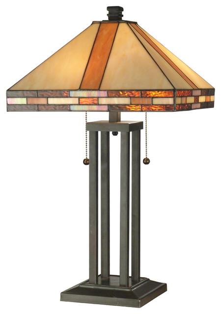Springdale lighting bellow mission table lamp in antique bronze springdale lighting bellow mission table lamp in antique bronze craftsman table lamps aloadofball Images