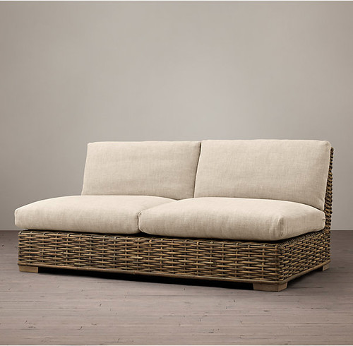 can i use natural rattan furniture on deep covered porch