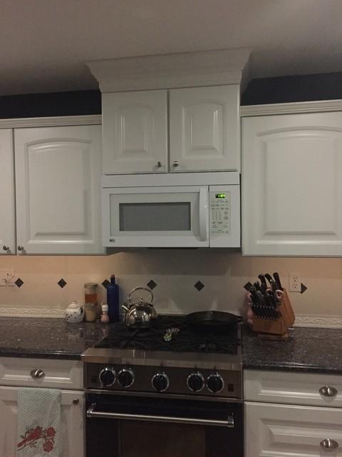 rv microwave mounting kit