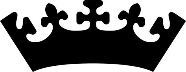 Prince Crown Stencil