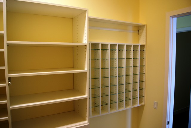 Inspiration For A Contemporary Closet Remodel In Houston