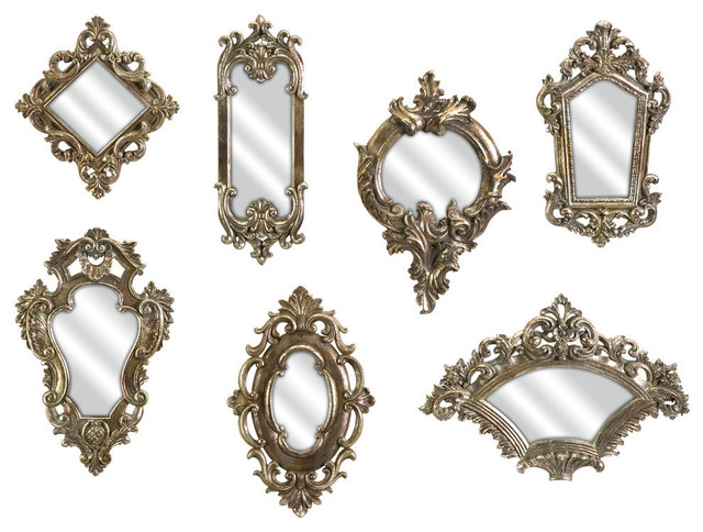Loletta Victorian Mirrors, Set of 7 by IMAX Worldwide Home
