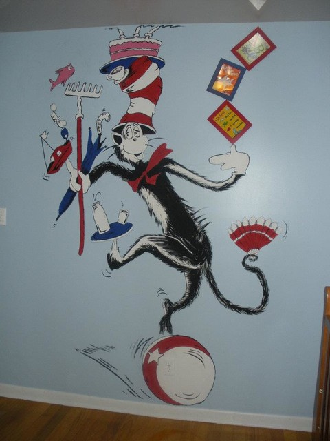Cat In The Hat Nursery Theme eclectic bedroom. Cat In The Hat Nursery Theme   Eclectic   Bedroom   Tampa   by