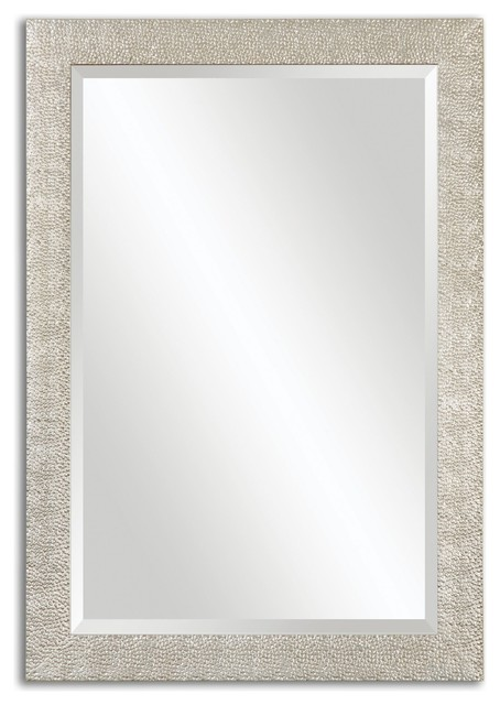 Uttermost Porcius Antiqued Silver Mirror.