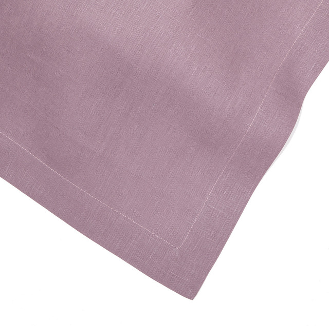 Heather Lavender Lilac Linen Table Runner 14x90 Contemporary Table Runners