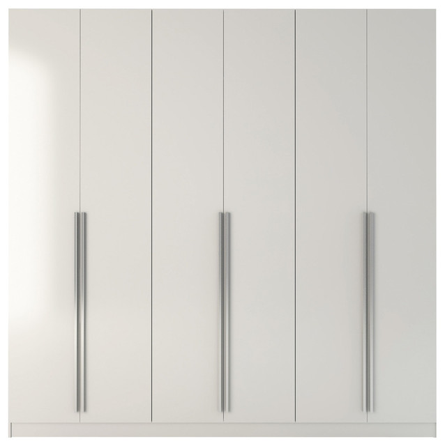 Pierce Place 4-Drawer Wardrobe - Modern - Armoires And Wardrobes - by Manhattan Comfort