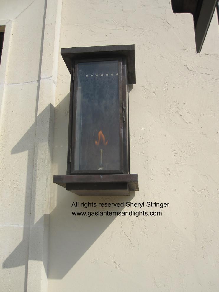 Sheryl's Zen Transitional Gas Lantern