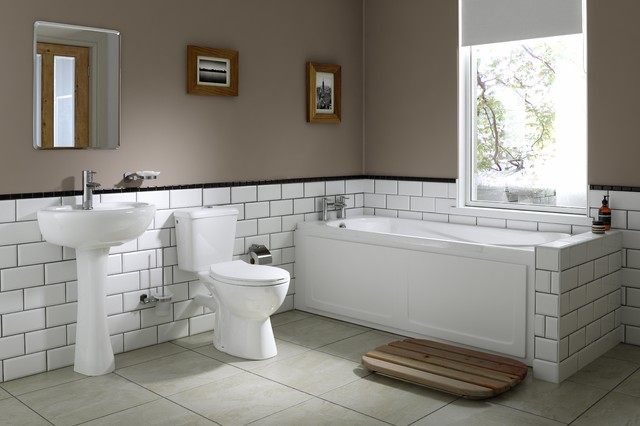 Wren bathrooms traditional inspiration traditional for Traditional bathroom ideas photo gallery