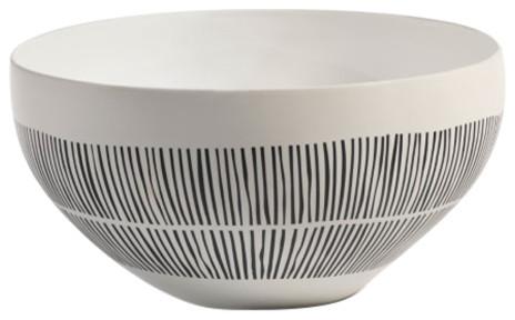"""Contemporary Decorative Bowls Amusing 105"""" Diameter Marquesa Ceramic Bowl  Contemporary  Decorative Design Inspiration"""