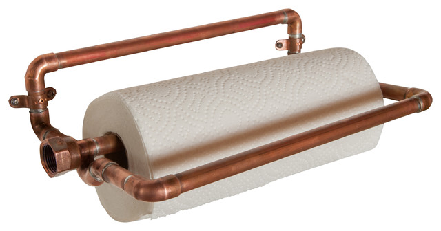 paper towel holder copper
