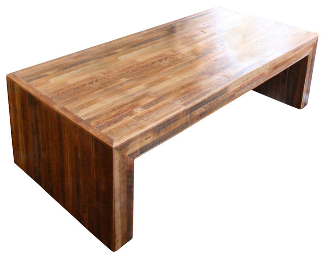 Jackson Table Modern Coffee Table made from Reclaimed Wood and New Orleans Homes