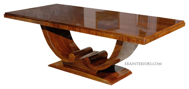 Superb Art Deco Dining Tables Art Deco Dining Table With Arched Base Dining Tables