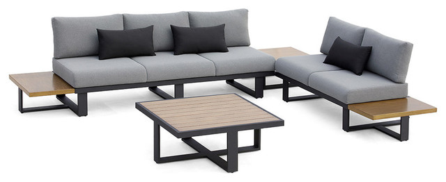 OVE Decors Platform II Sectional Set