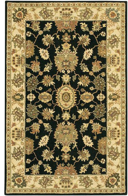 Chandra Adonia Ado909 Rug, Black/Cream/Green/Copper   Traditional   Area  Rugs   By BuyAreaRugs