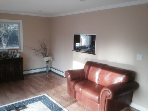 Need help finding wall color to compliment red oak natural ...