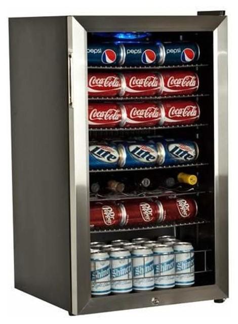 """EdgeStar BWC120LT 19"""" Wide 103 Can and 5 Bottle Beverage Cooler"""
