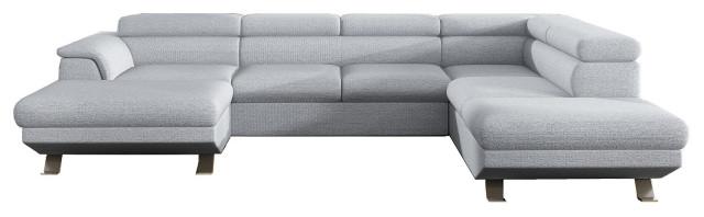 PHOENIX XL Sectional Sleeper Sofa, Right