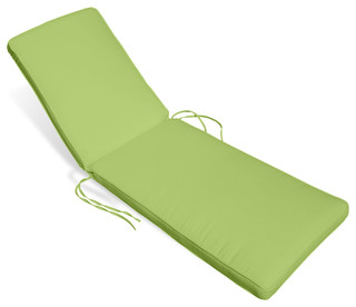 Aqua chaise lounge cushion contemporary outdoor for Aqua chaise lounge cushions