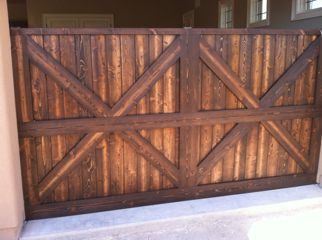 Solid wood garage doors rustic phoenix by custom for Rustic wood garage doors
