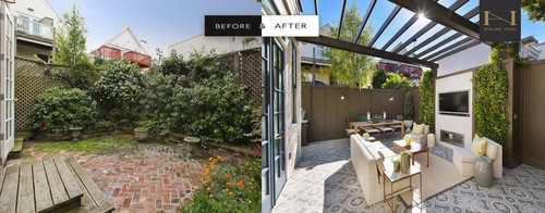 Before & After: Bland to Glam Backyard Makeover!!