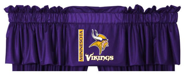 Nfl Minnesota Vikings Football Locker Room Valance