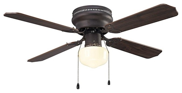 "Canarm Neptune 42"" Ceiling Fan, Oil Rubbed Bronze."