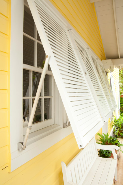 bahama impact stormdecorative shutters tropical - Decorative Shutters