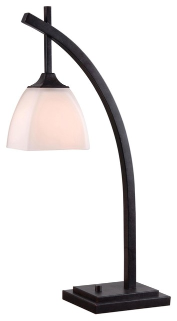 Kenroy Home 32293gfbr, Structure Table Lamp, Golden Flecked Bronze.
