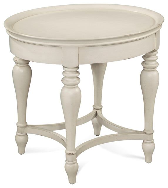 Sanibel Oval End Table Traditional Side Tables And End Tables
