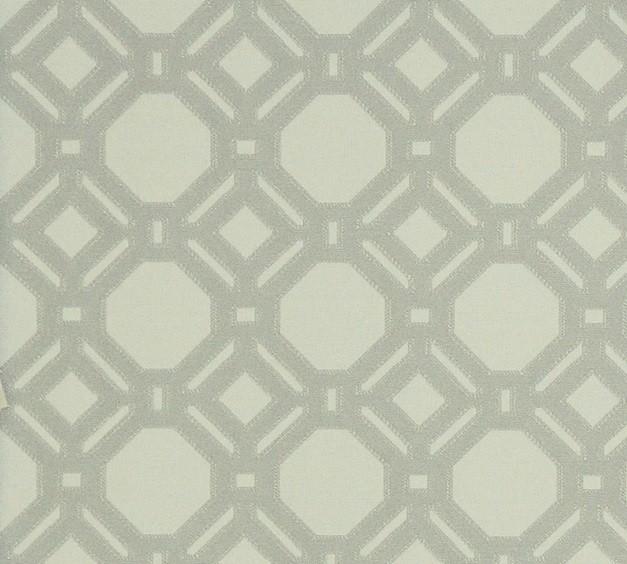 Grey Lattice Fabric Reversible Geometric Woven Upholstery Free