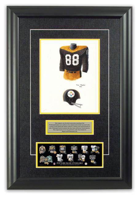 huge selection of b4f99 b824f Original Art of the NFL 1967 Pittsburgh Steelers Uniform