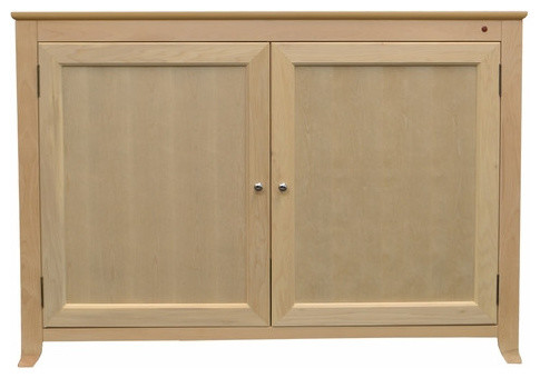 """Touchstone Monterey Unfinished Full Size TV Lift Cabinets For Up To 60"""" - Transitional ..."""