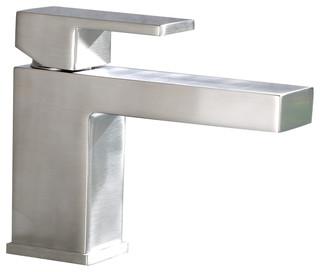 Marina Single Hole Bathroom Vanity Sink Faucet - Contemporary ...