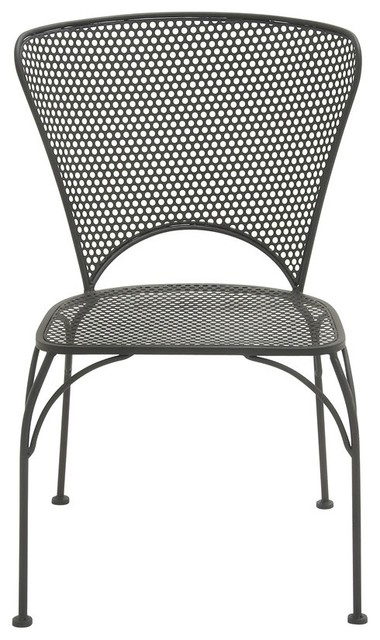 Outdoor Metal Chair Contemporary Outdoor Dining Chairs by Bison fice