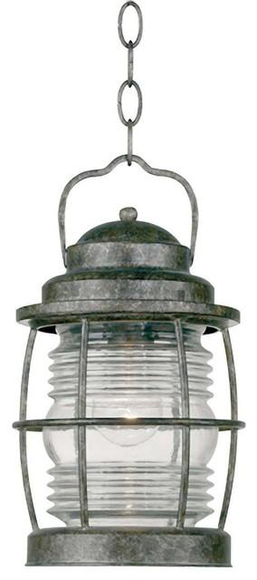 Beacon Hanging Lantern, Flint Finish.