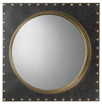 Sterling Industries Antique Gold 25 Wall Mirror.